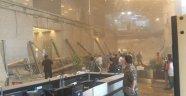 Borsa binasının bir katı çöktü!