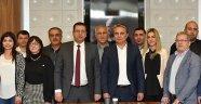 CHP İl yönetimi Başkan Uysal'ı ziyaret etti