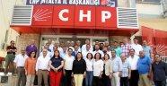 CHP'nin Antalya adaylarının ilk toplantısı