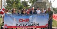 CHP'nin 95. kuruluş yıl dönümü Antalya'da kutlandı