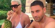 Dusko Tosic eşiyle Serik'te tatilde