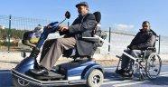 Duygulandıran engelli dayanışması