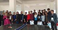 Fakülte öğrencilerinden masa tenisi turnuvası