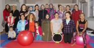 Finikeli kadınlardan pilates kurslarına ilgi