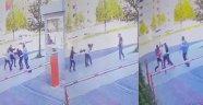 Güvenlik görevlisine öldüresiye dayak kamerada