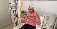 Havva Nur'un hastanedeki oda arkadaşı iskelet 'Cılız'