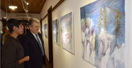 Hollandalı sanatçıdan Kaş'ta sergi