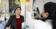 Kanser onun için 'iyi ağırlanması gereken ağır misafir'