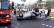 Kaş'ta feci kaza: Yaralılar var