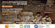 Kent Müze Tarih Söyleşileri'ne davet
