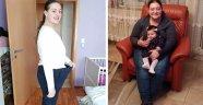 Kızı için 6 ayda 55 kilo verdi!