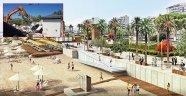 Konyaaltı Sahil Projesi Beach Park'tan başladı