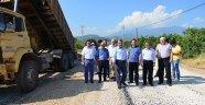 Kumluca'da asfalt seferberliği