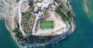 Manavgat Belediyesinden Emek ve Oymapınar'a yeni spor alanı