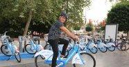 Manavgat'ta bisikletli yaşam başlıyor