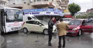 Manavgat'ta zincirleme trafik kazası