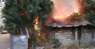 Metruk ev yandı