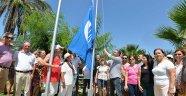 Muratpaşa'da dört plajda mavi bayrak töreni
