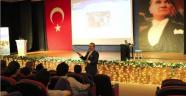 Öğrenciler 'Ömer Durna ile Kariyer Uçuşu' yaptı