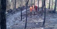 Ormanda örtü yangını büyümeden önlendi