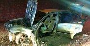 Otomobiliyle kaza yapan demir ustası öldü