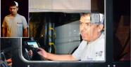 Özel halk otobüsü sürücüsüne levyeli saldırı