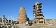 Perge kuleleri yeniden yükselecek