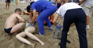 Rus turist ölümden döndü!