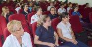Sağlık çalışanlarına hasta güvenliği eğitimi