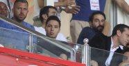 Samir Nasri, maçı tribünden takip etti