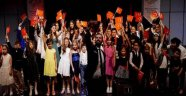 Sanat merkezinde 10'uncu yıl sevinci