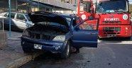 Seyir hâlindeki araçta yangın çıktı