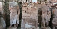 Side'de bulunan o heykeller restore ediliyor