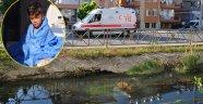 Sulama kanalına düşen çocuğu, çevredekiler kurtardı