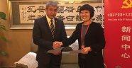 TGK, Çin Gazeteciler Birliği ile işbirliği protokolü imzaladı