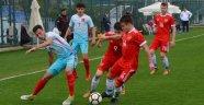 U18 Milli Futbol Takımı, dostluk maçında Rusya'ya yenildi