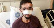 Yüzüne ateş eden genç, 37'nci kez ameliyat olacak