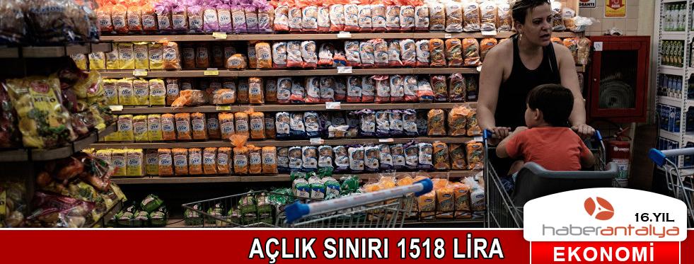 AÇLIK SINIRI 1518 LİRA