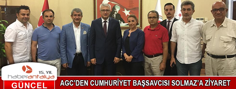 AGC'DEN CUMHURİYET BAŞSAVCISI SOLMAZ'A ZİYARET