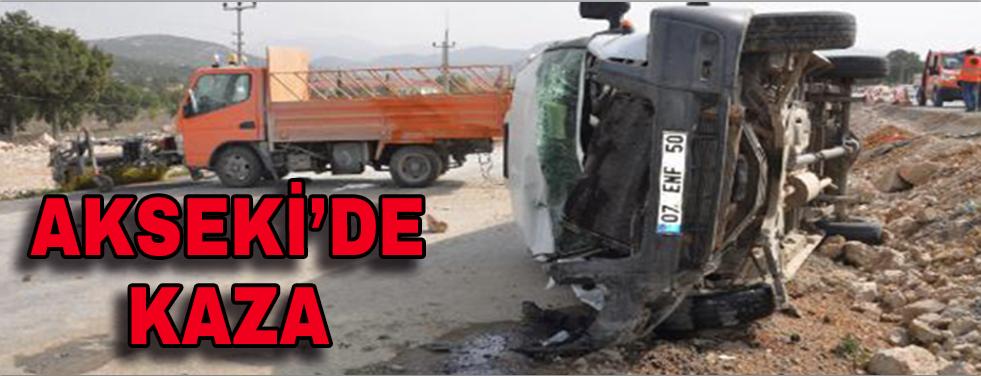 Akseki'de kaza: 3 yaralı