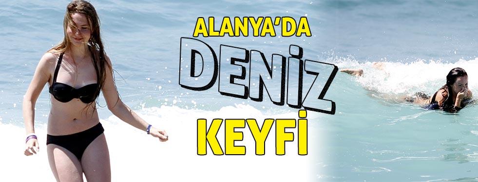 Alanya'da deniz keyfi   Antalya hava durumu