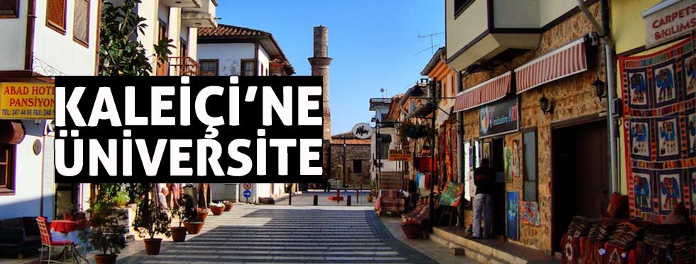 Antalya'ya yüksek teknolojili üniversite
