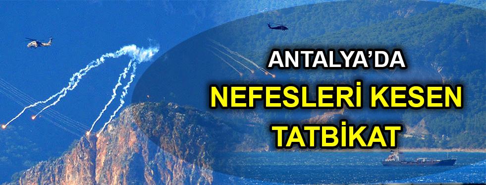 Antalya'da 'Elektronik Harp Tatbikatı'