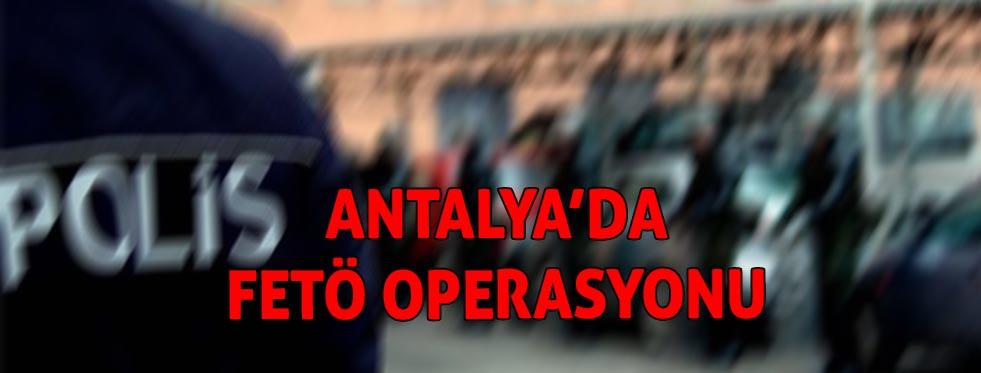 Antalya'da FETÖ/PDY mahrem imam operasyonu: 3 gözaltı