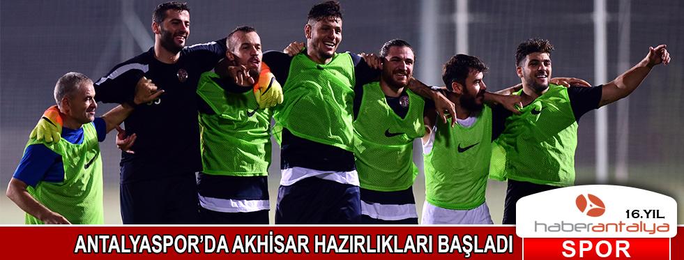 Antalyaspor'da Akhisar hazırlıkları başladı