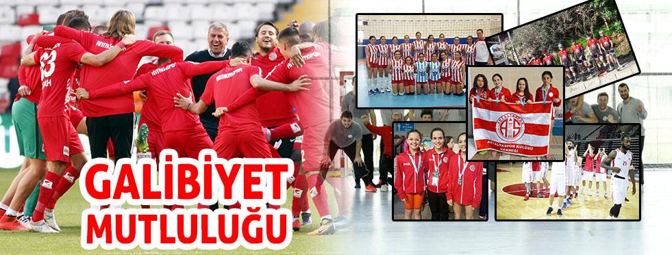 Antalyaspor'da galibiyet mutluluğu