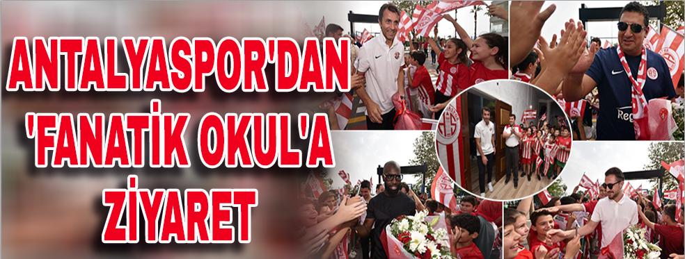 Antalyaspor'dan 'Fanatik okul'a ziyaret