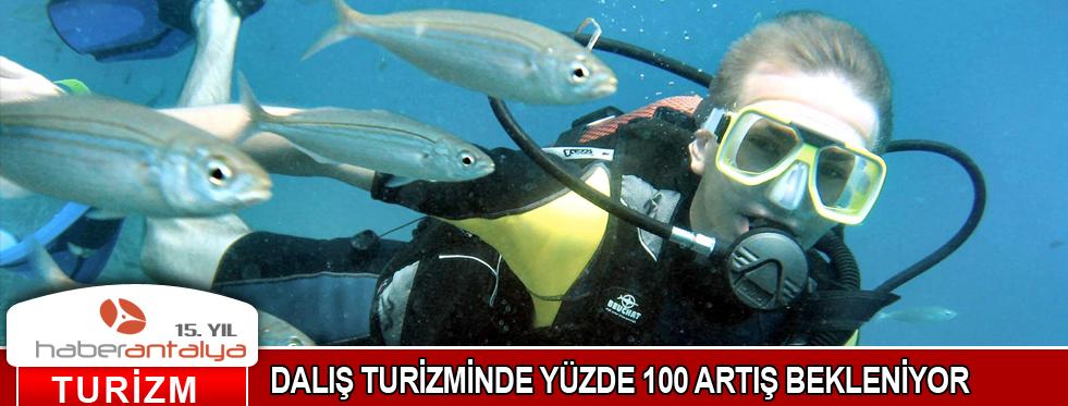 DALIŞ TURİZMİNDE YÜZDE 100 ARTIŞ BEKLENİYOR