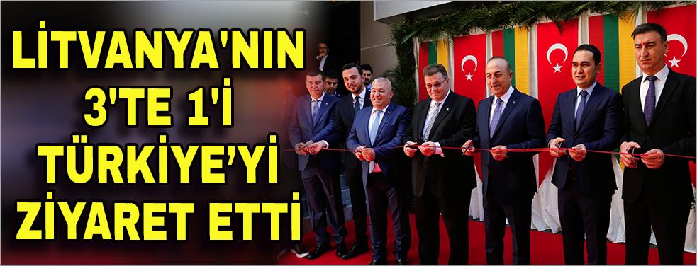 Litvanya'nın 3'te 1'i Türkiye'yi ziyaret etti