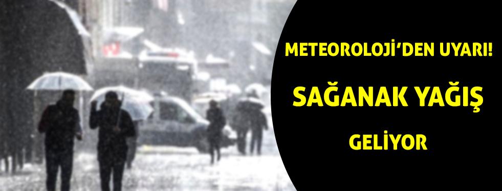 Meteoroloji'den sağanak yağış uyarısı | Antalya hava durumu, Isparta hava durumu, Burdur hava durmu, yurtta hava durumu